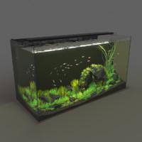 3D aquarium 120l 32g