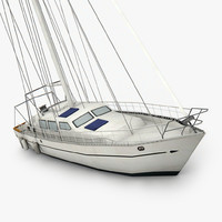 sailboat ready games 3D model