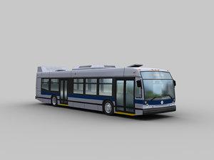 3D bus nova lfs