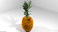 fruit pine pineapp model