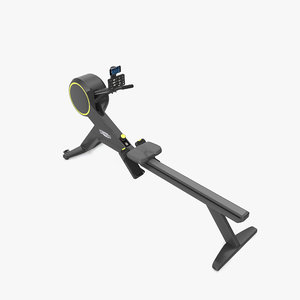 skillrow rowing machine 3D