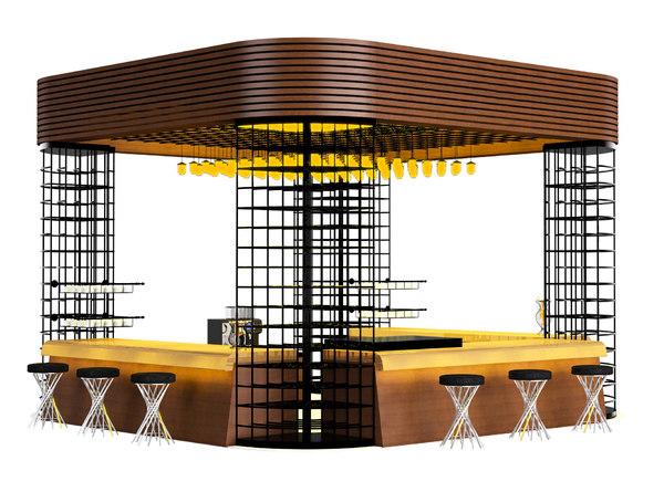 3D coffee shop