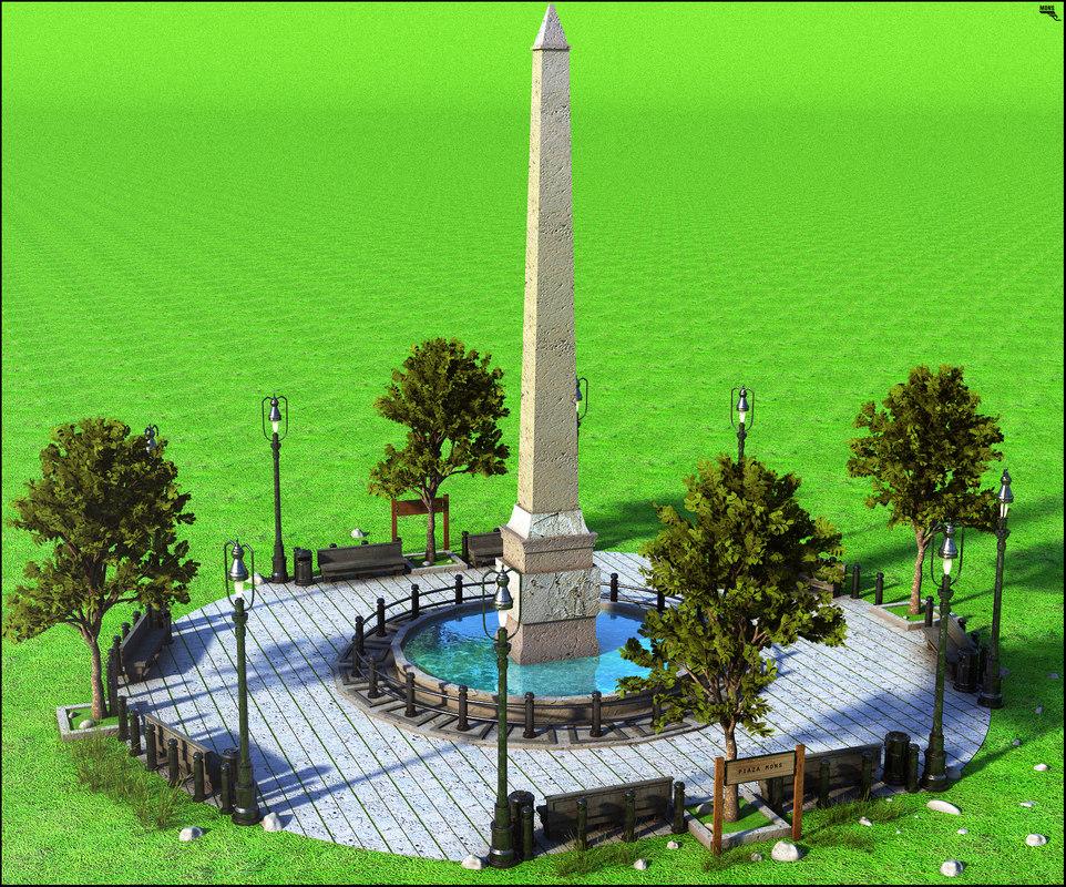 square europe european 3D