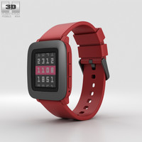 pebble time 3D model