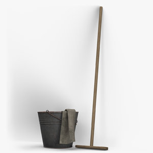mop bucket 3D model