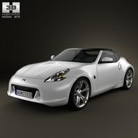 3D nissan 370z 370 model