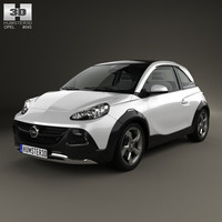 3D opel adam rocks model
