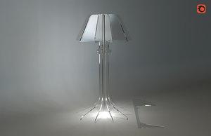 lamp plexiglass 3D model