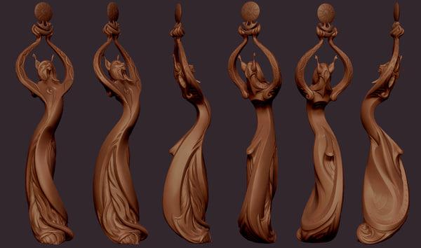 --------- 3D model