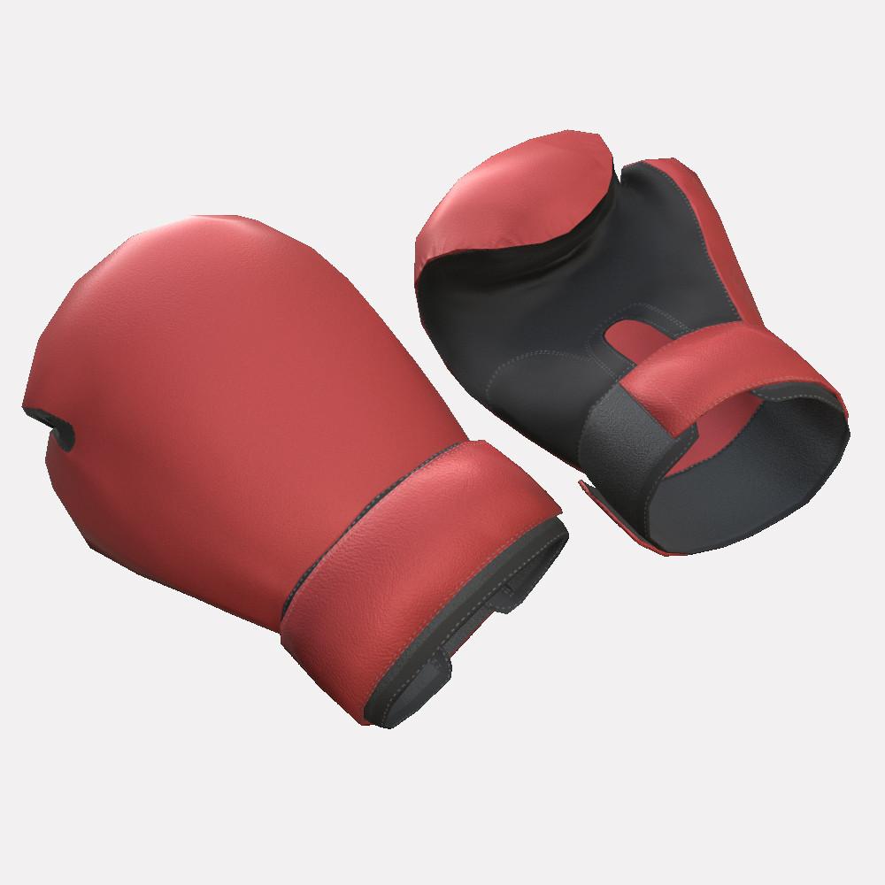 boxing gloves 3D model