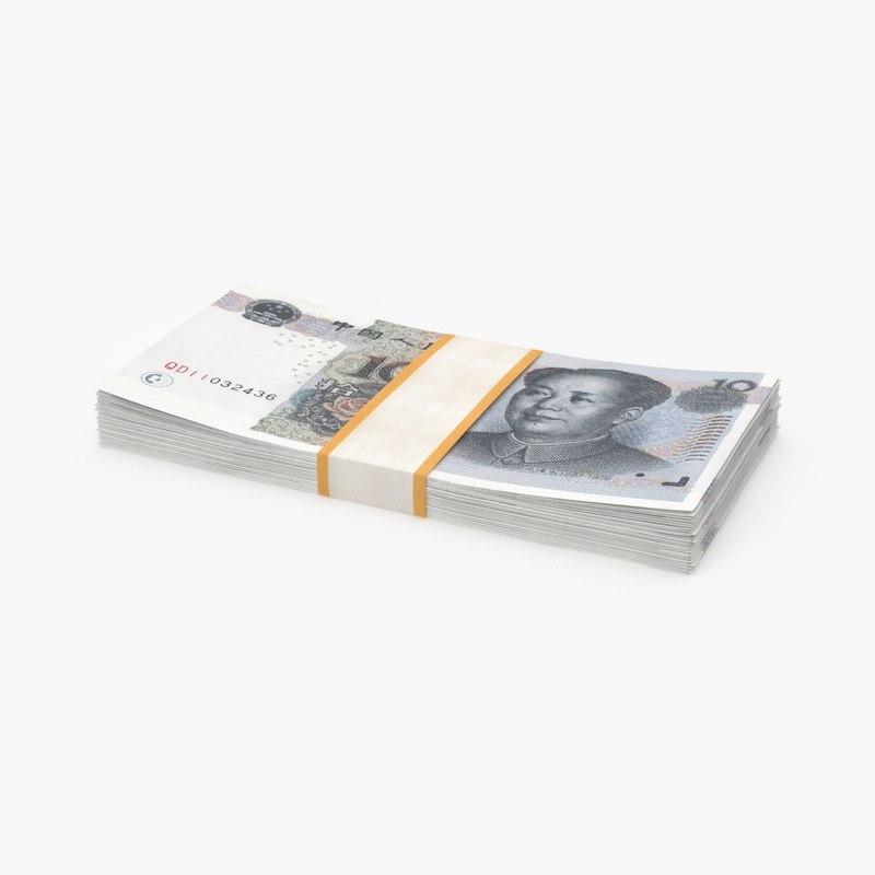 10-yuan-note---stack model