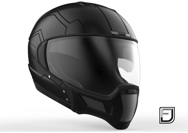 3D modular helmet model