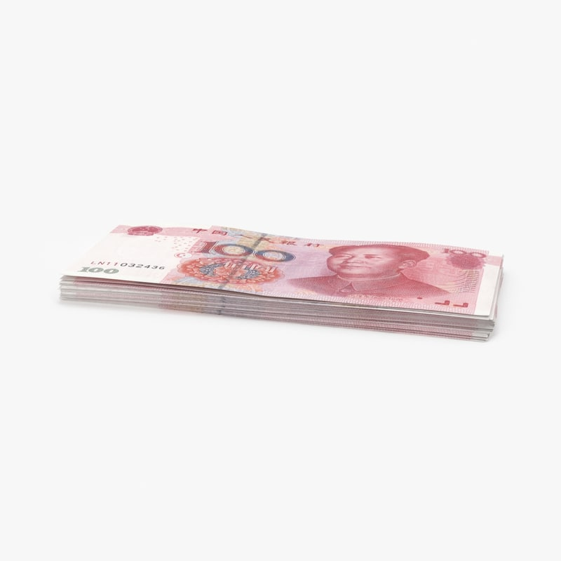 3D 100-yuan-note---pack
