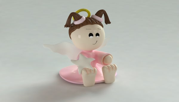 3D baby adornment model