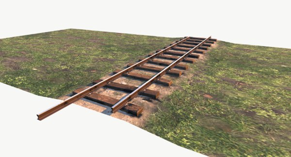 3D model railway pbr