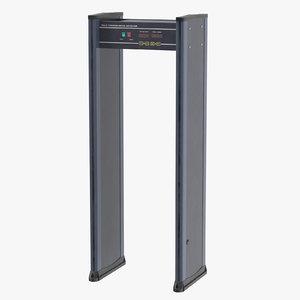 metal detector body - 3D