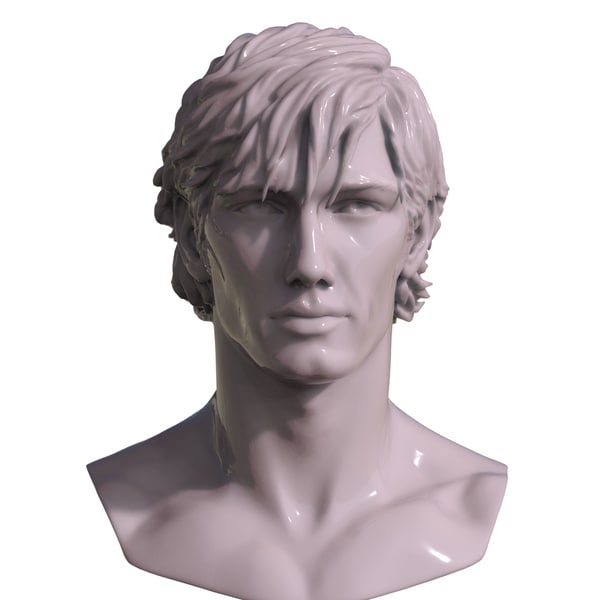 decimated mans 3D model