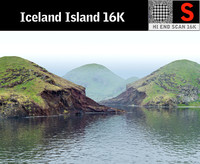 Iceland Island (Animated)