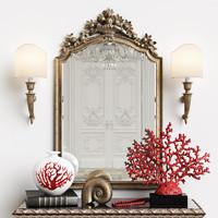 mirror chelini art 403 3D model