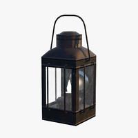 3D lantern interiors exteriors