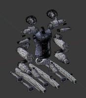 3D jointed figure roronoa zoro