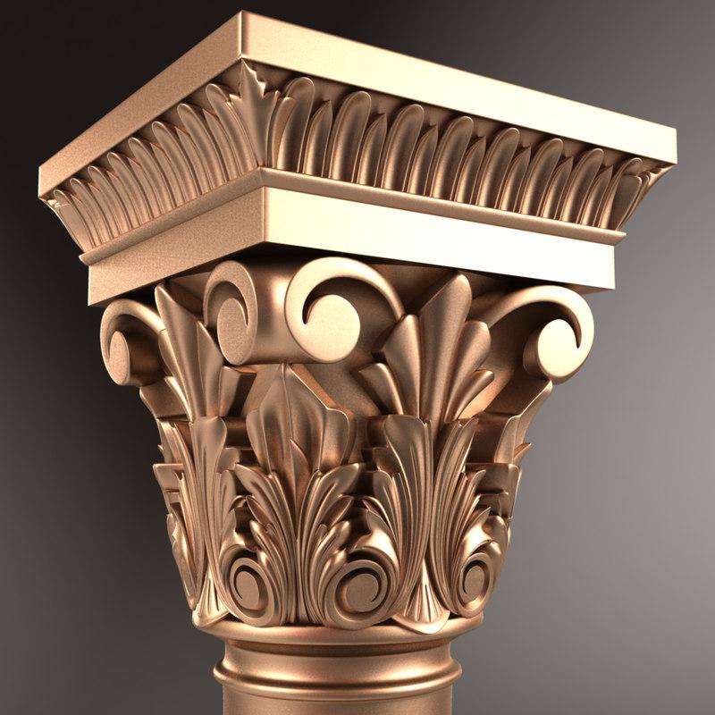 column 01 3D model