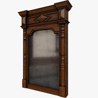3D model old mirror