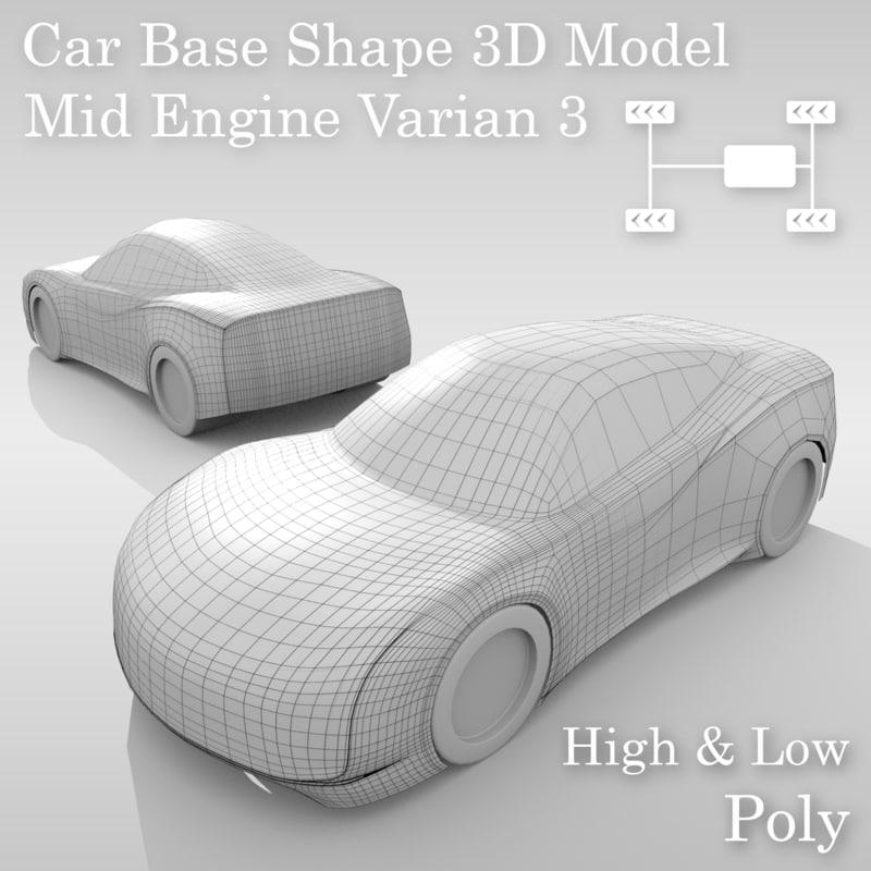 car base variants model