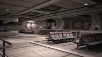 future sci-fi scenarios public 3D model
