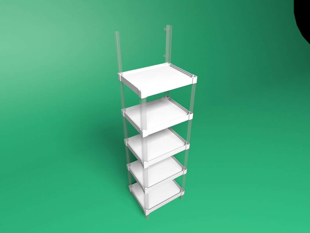 3D model modular stand