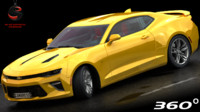 chevrolet camaro ss 2017 3D model