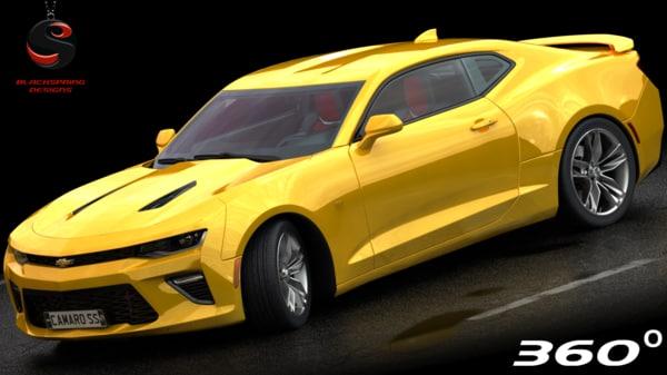 chevrolet camaro ss 2017 3D model