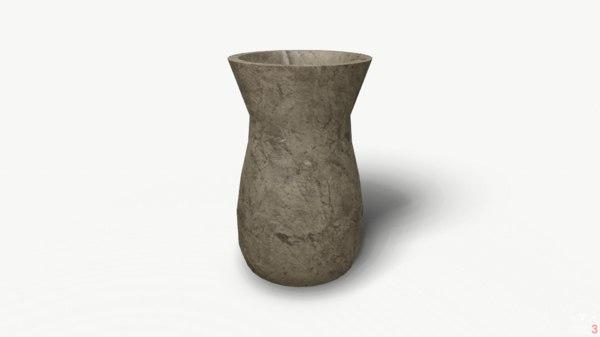 vase old pbr 3D model