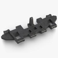 tank track chain 3D model