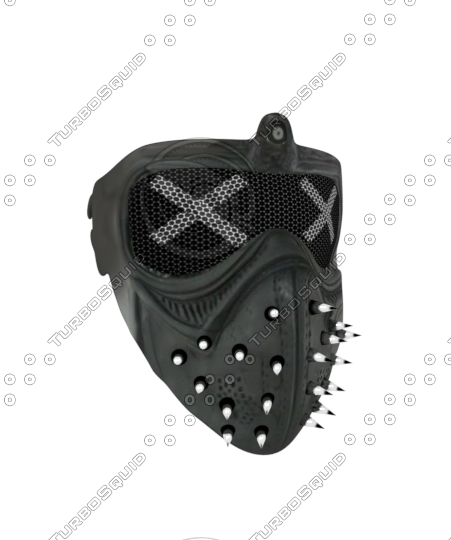 3D model wrench s mask watch