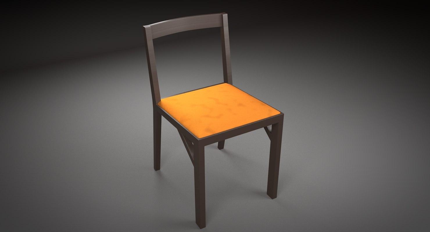 3D alpha chair