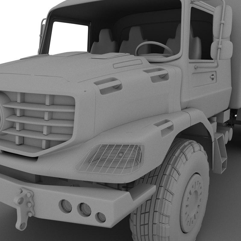 zetros 6x6 3D