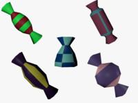 candies 3D