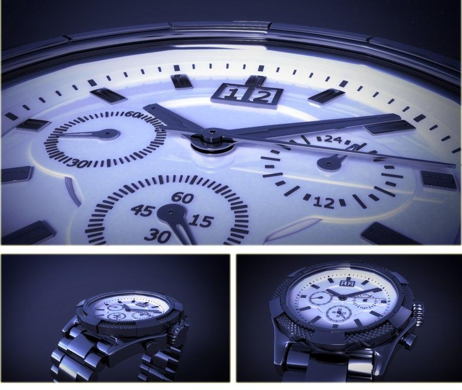 3D guess watch