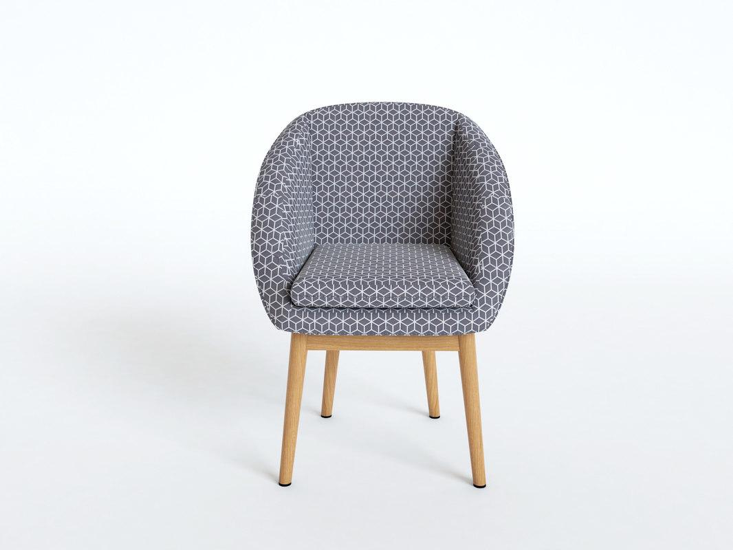 3D model chair jimi