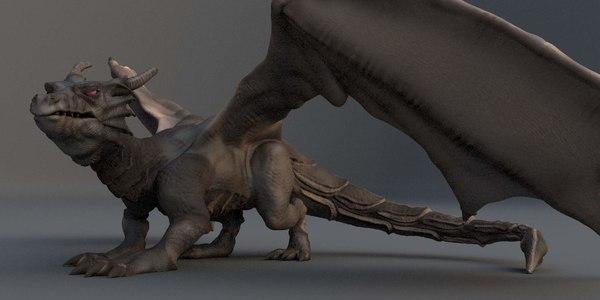 dragon t 3D model