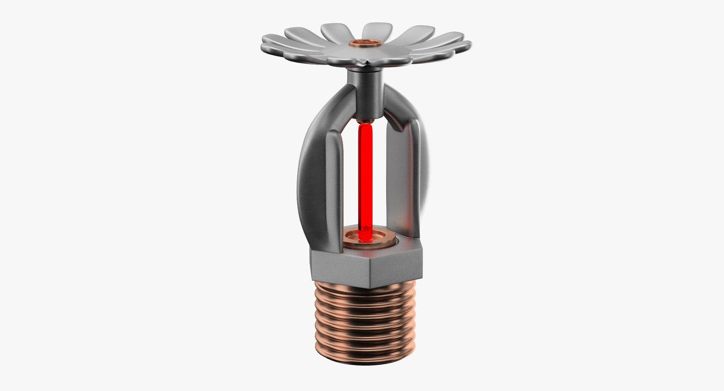 3D model sprinkler