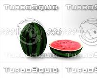 3D watermelon plant