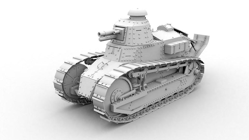 3D ft-17 model