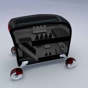bus concept style 3D model