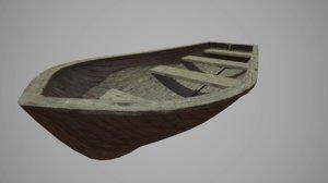 3D boat 4096x4096