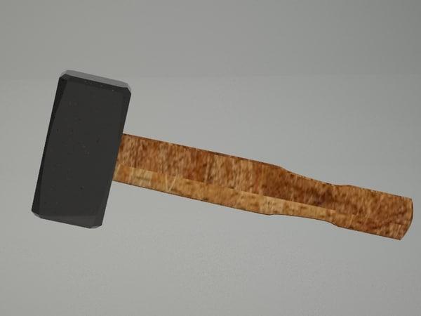 hammer print 3D model