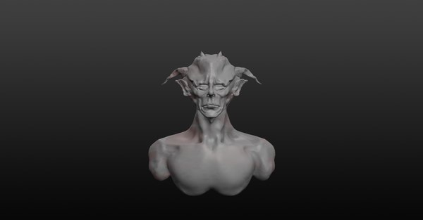 demon s head 3D model
