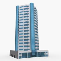 3D model al durrah tower