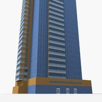 ariyana tower 3D model